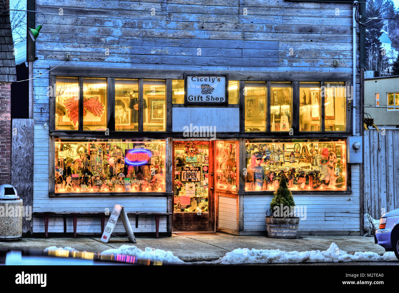 Gift shop in Roslyn: Joel Fleishman's office - Stock Image