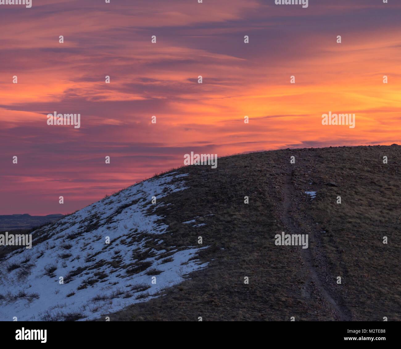 Green Mountain, Lakewood, Colorado. - Stock Image