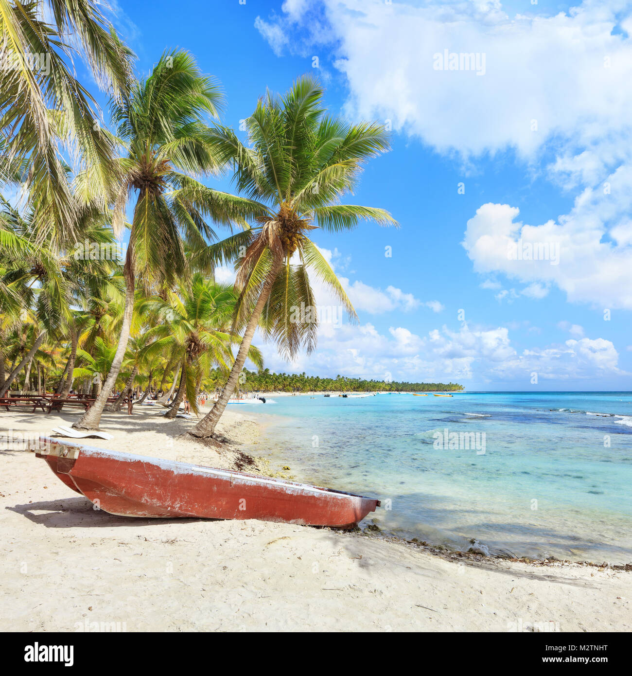 Vacation in Dominican Republic - Stock Image