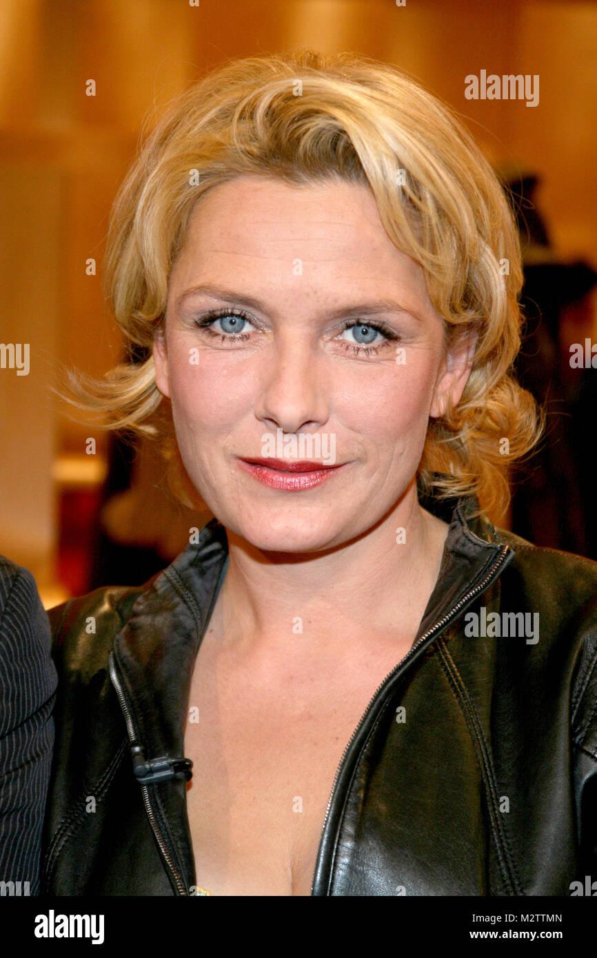 Schaubude, 03.11.2006 in Hamburg, Janette Rauch (Rote Rosen) - Stock Image