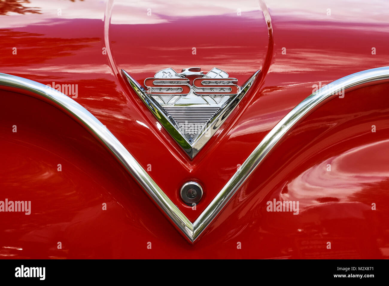 1961 Chevy Impala Stock Photos Images Alamy Ss Chevrolet Convertable Image
