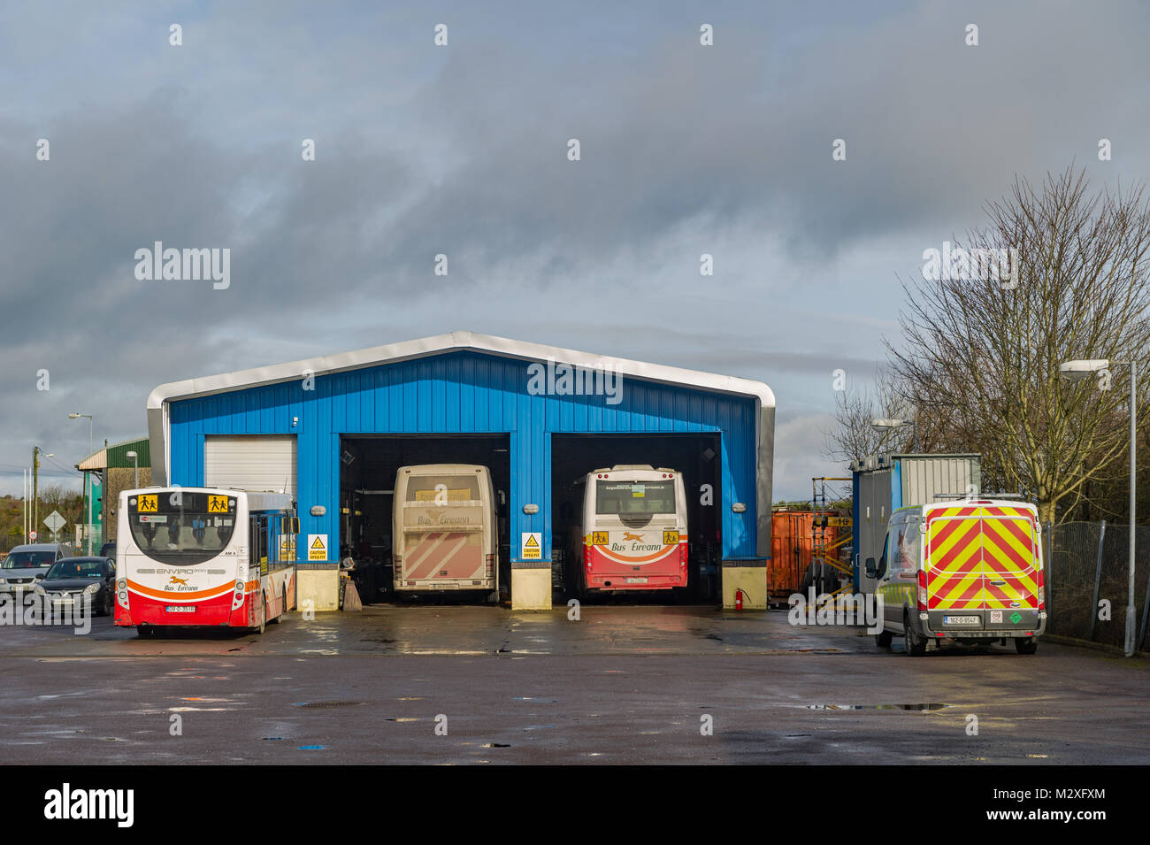 Bus Eireann (Irish national bus company) Skibbereen Maintenance