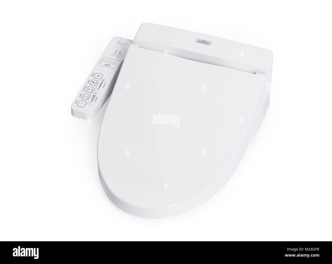 Sensational Toto Washlet Bidet Toilet Seat Isolated On White Background Pdpeps Interior Chair Design Pdpepsorg