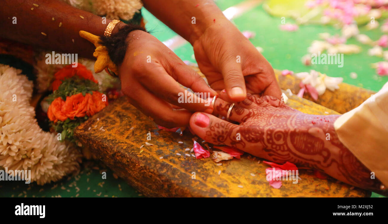 South Indian Wedding Rituals Of Bride And Groom With Wedding