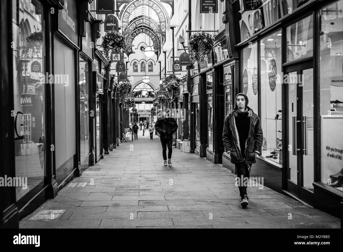 Thorntons Arcade, Leeds City Centre, West Yorkshire, England UK - Stock Image