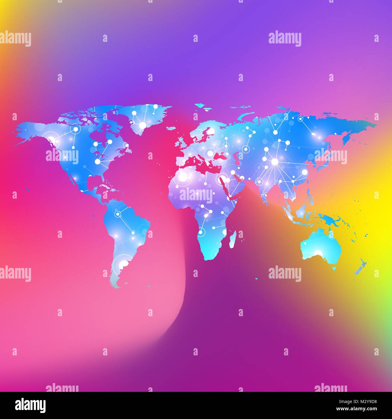 World map trendy liquid colors background global technology stock global technology networking concept global network connections lines plexus background big data communication perspective backdrop world map gumiabroncs Choice Image