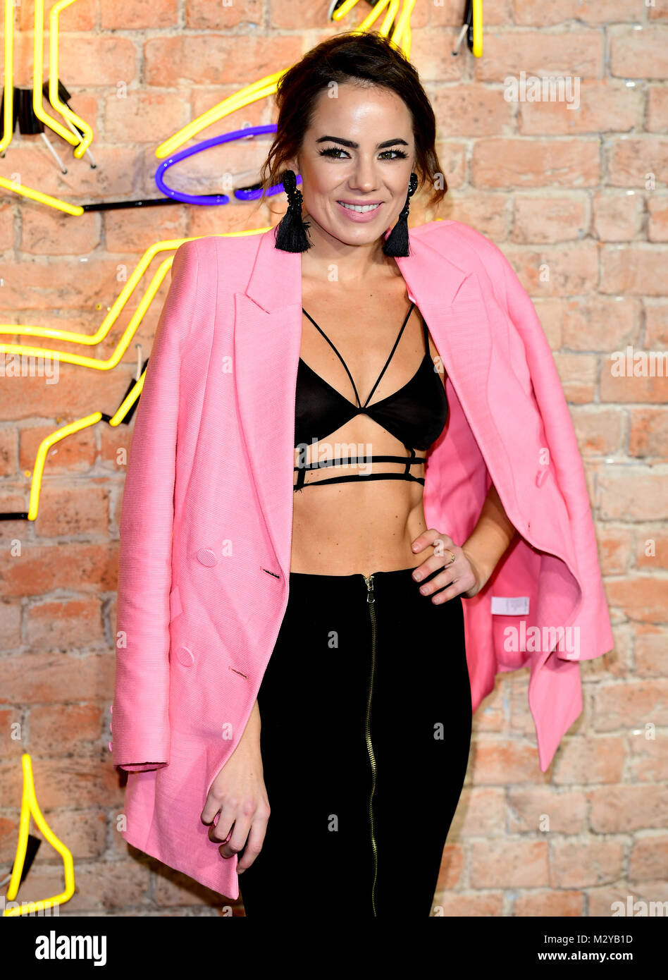 Emma Conybeare attending The Black Panther European Premiere at The Eventim Apollo Hammersmith London. - Stock Image