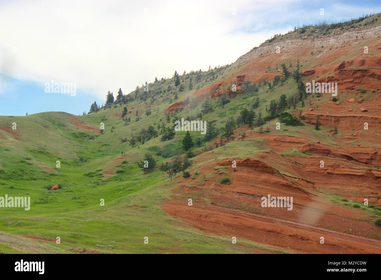 Red Bluff - Stock Image