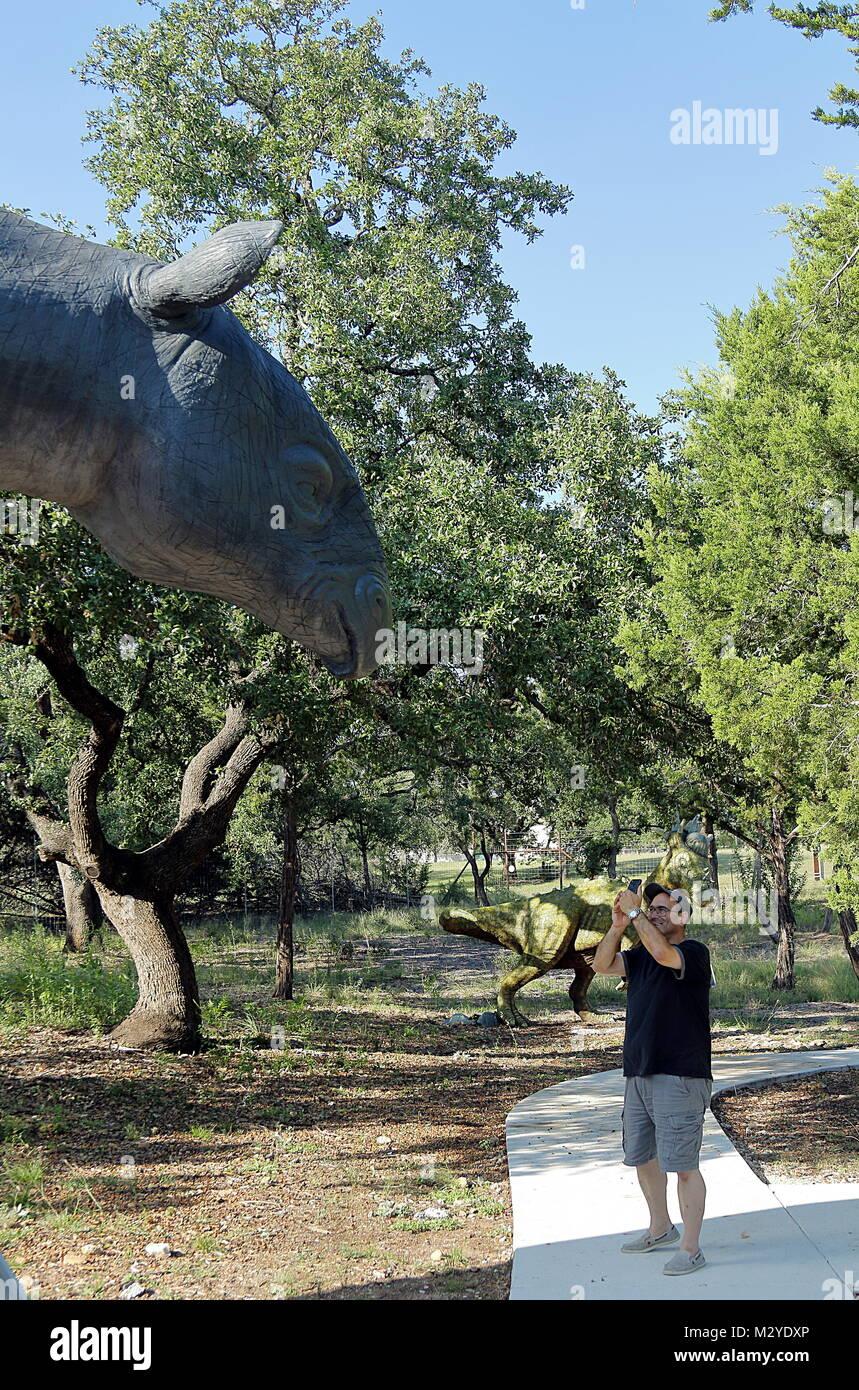 Bandera Natural Museum Diann Bayes S Dinosaur Animals Exhibits Travel Tourism