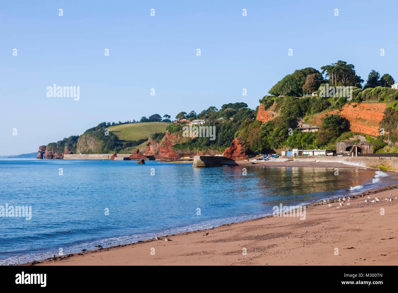 England, Devon, Dawlish, Dawlish Beach - Stock Image