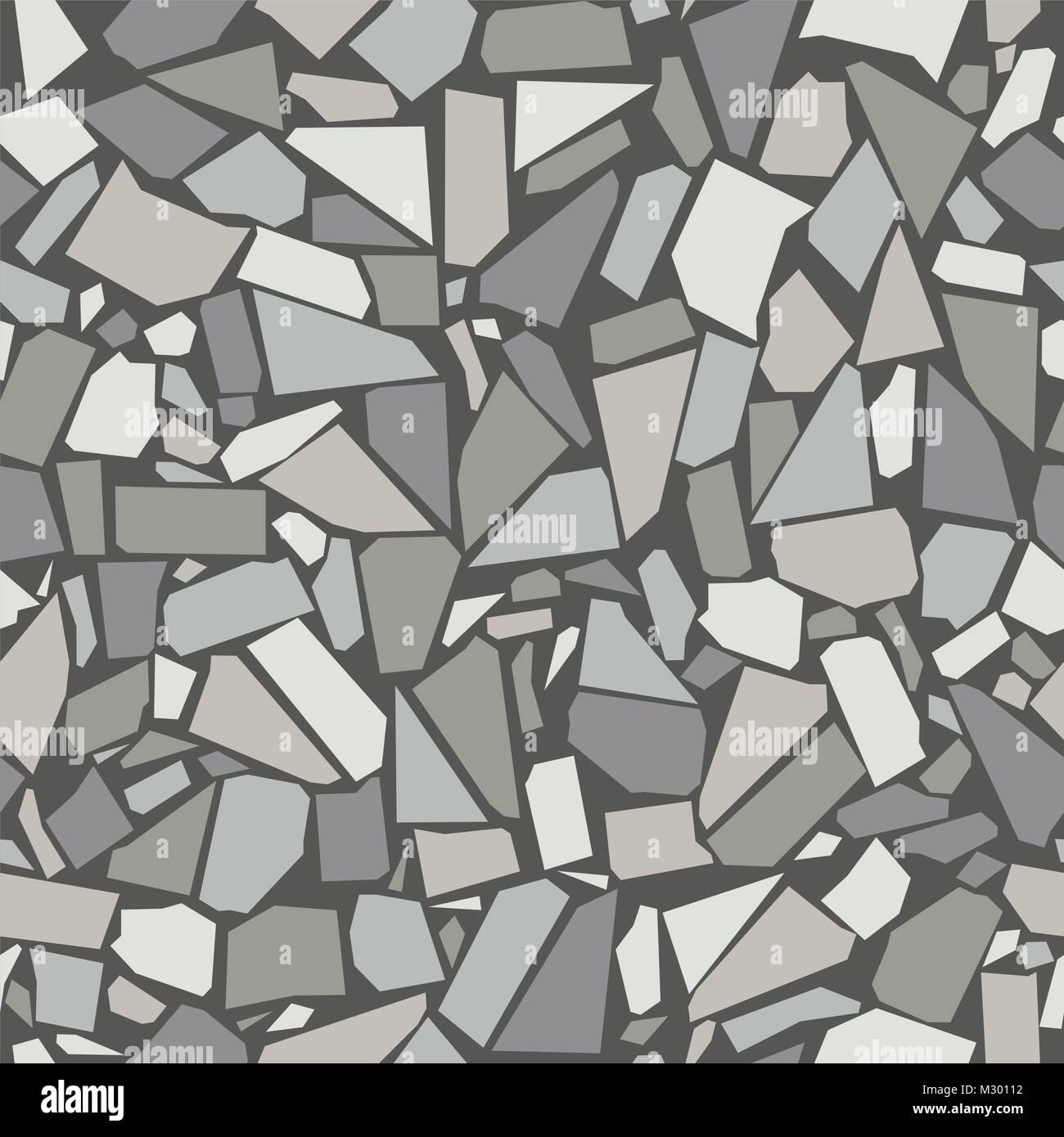 Vector Gray Vintage Ceramic Tiles Wall Decoration Seamless Pattern Stock Vector Image Art Alamy