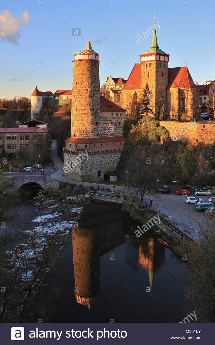Bautzen, 1000 Jahre alt - Stock Image