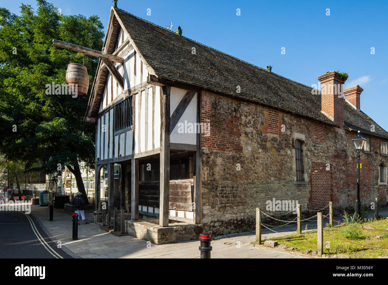 Historic house in Southampton, Hampshire, England. - Stock Image