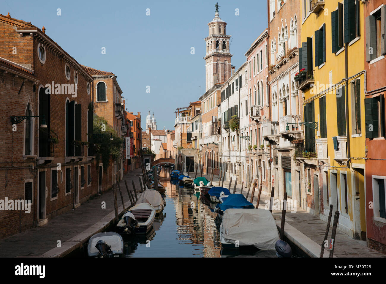Street Photography in Venice, Italy - Stock Image