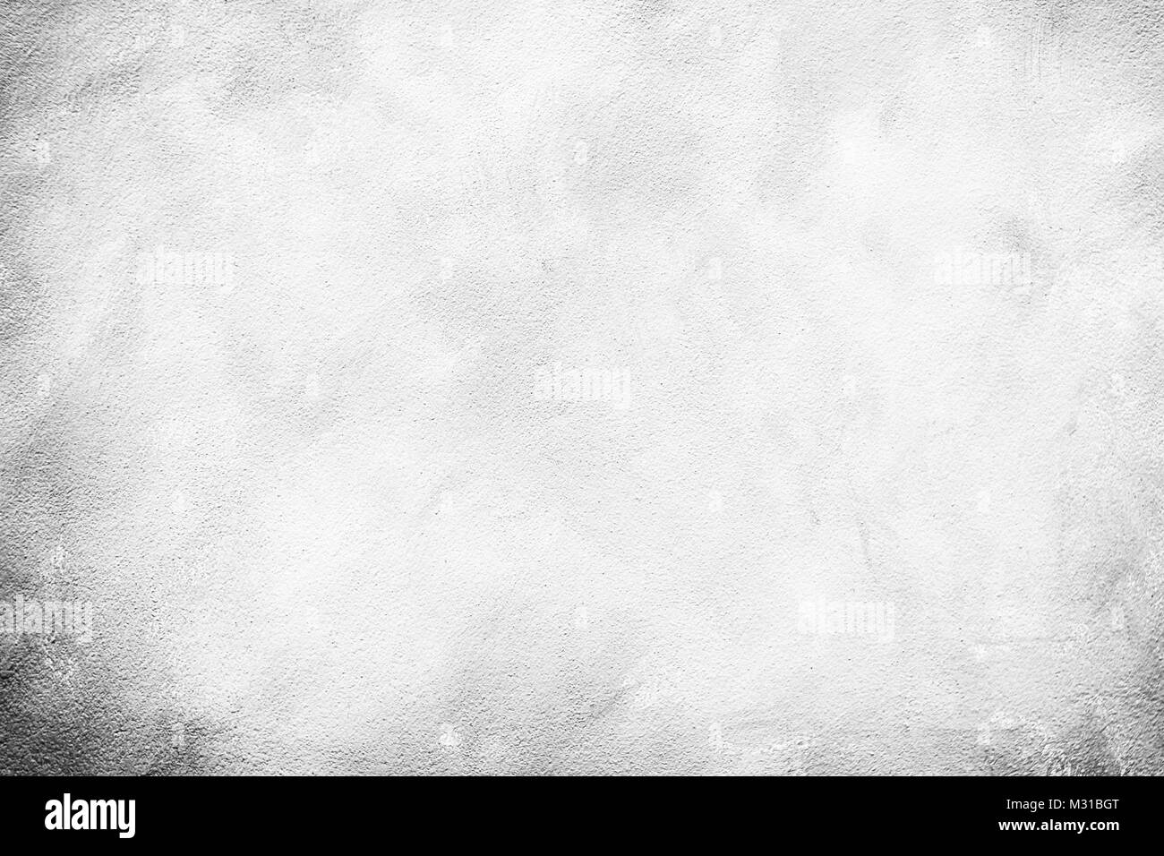 White Concrete paint wall texture backgroundflooring for text Stock