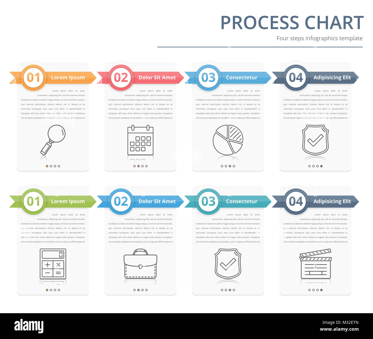 Process chart flow chart template infographics design elements process chart flow chart template infographics design elements with numbers and text business infographics workflow steps options vector eps10 accmission Choice Image