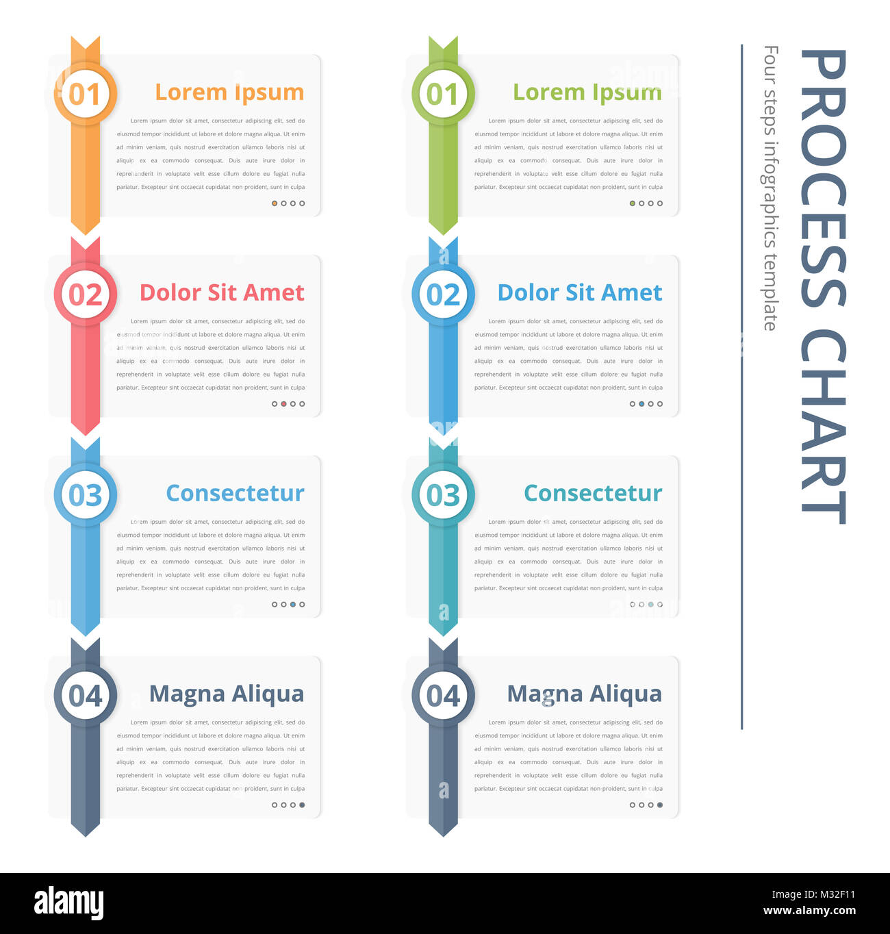 Process Flow Chart Template from c8.alamy.com