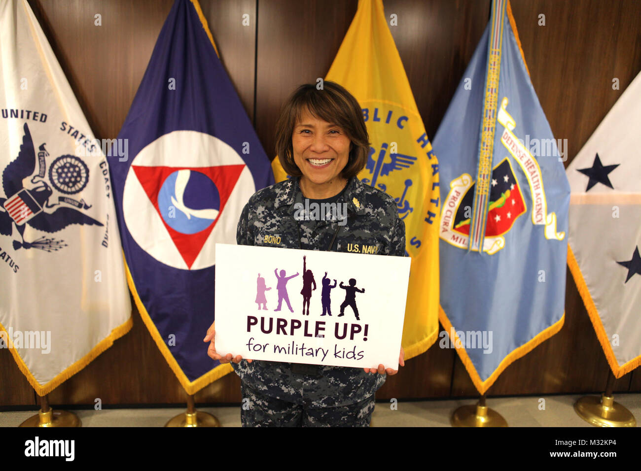 Defense Health Agency Director Vice Admiral Raquel Bono Shows Her