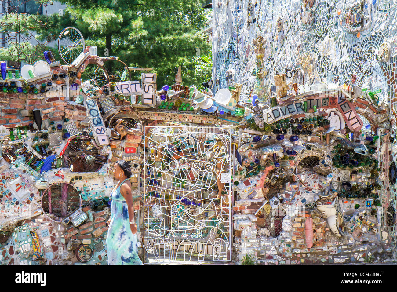 Philadelphia Pennsylvania South Philly South Street Magic Gardens