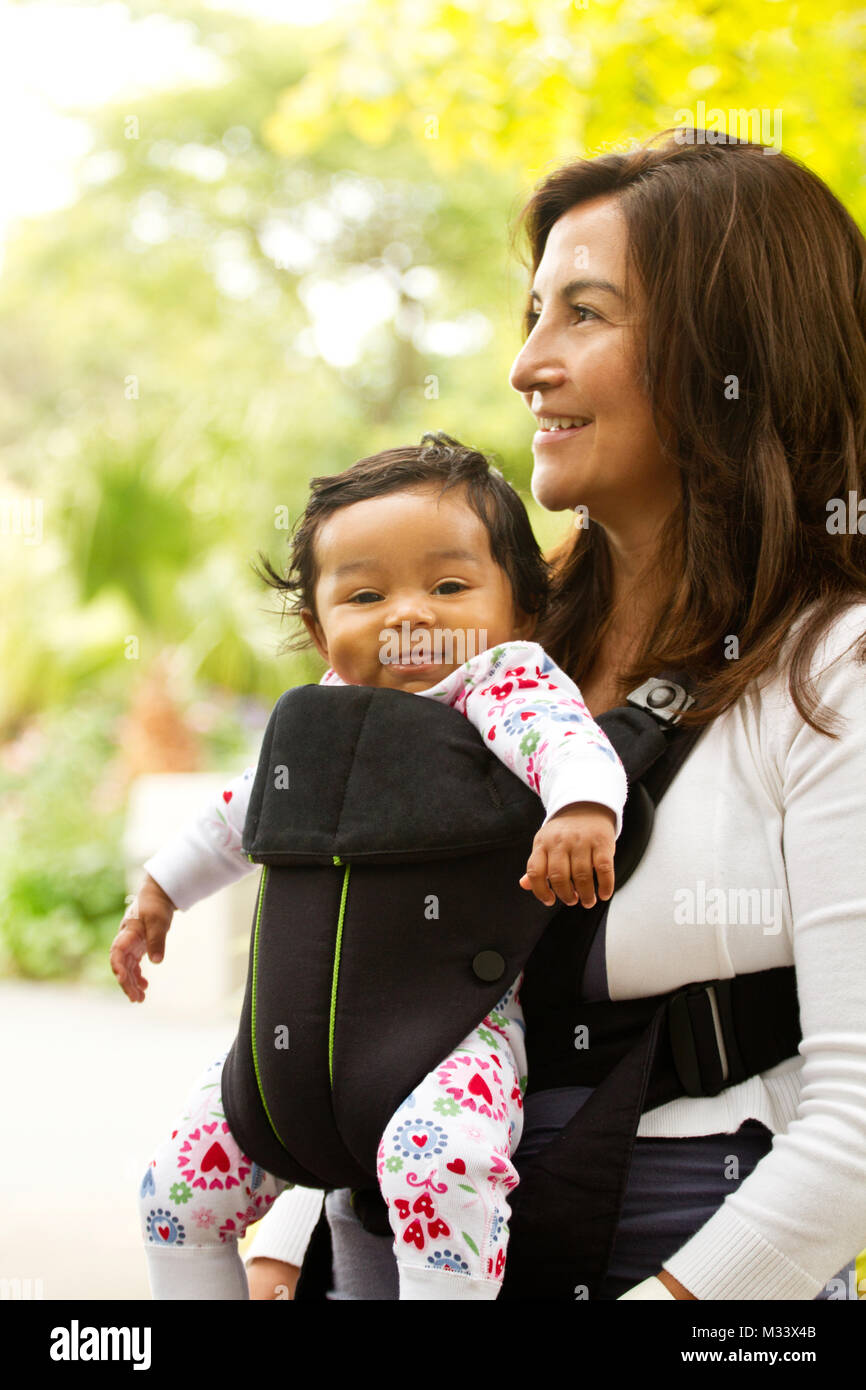 c70d190f2ca Baby Carrier Stock Photos   Baby Carrier Stock Images - Alamy