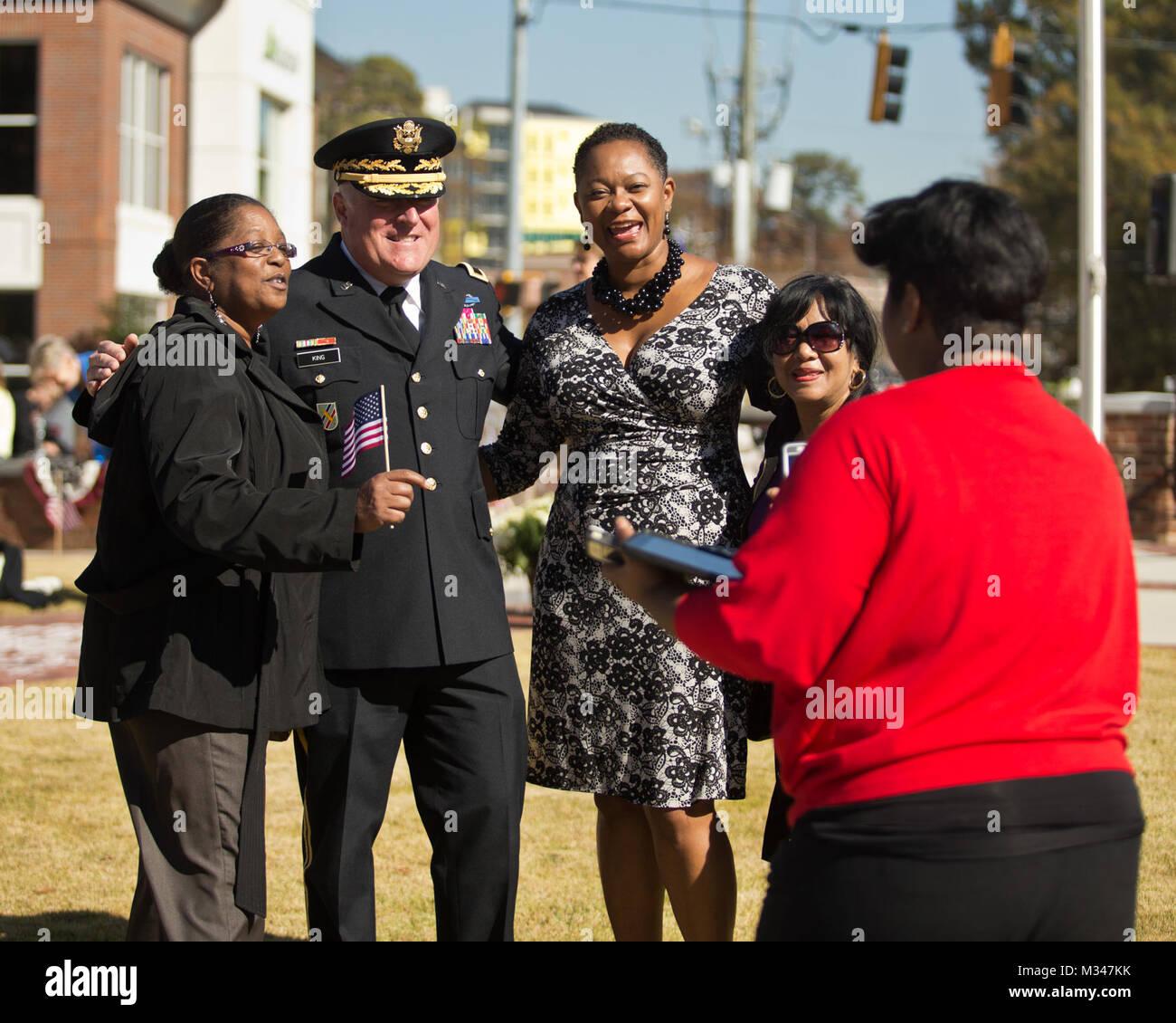 ATLANTA HISTORY CENTER AND MUSEUM, Atlanta. Nov. 11, 2014-  Georgia National Guard's Director of the Joint Staff, - Stock Image