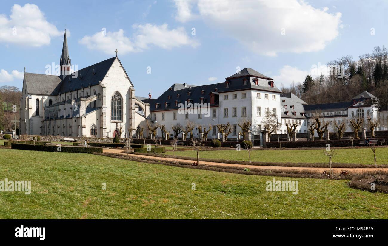 Marienstatt Abbey, Streithausen, Westerwald hills, Rhineland-Palatinate, Germany - Stock Image