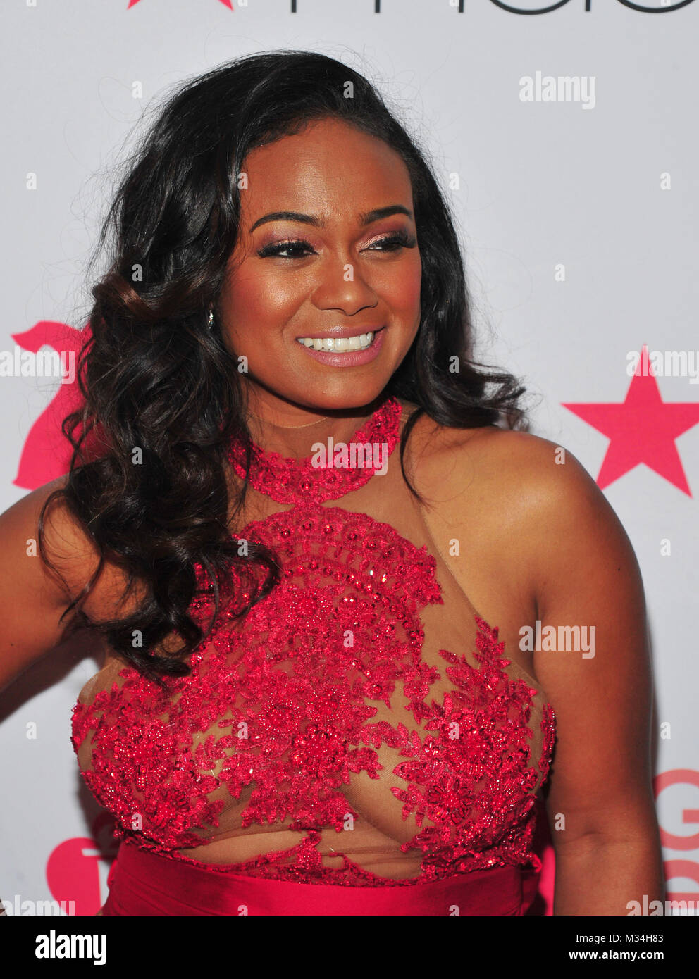 New york ny usa 8th feb 2018 tatyana ali at the red dressgo tatyana ali at the red dressgo red for women fashion show at hammerstein ballroom on february 8 2018 in new york city credit john palmermedia altavistaventures Images