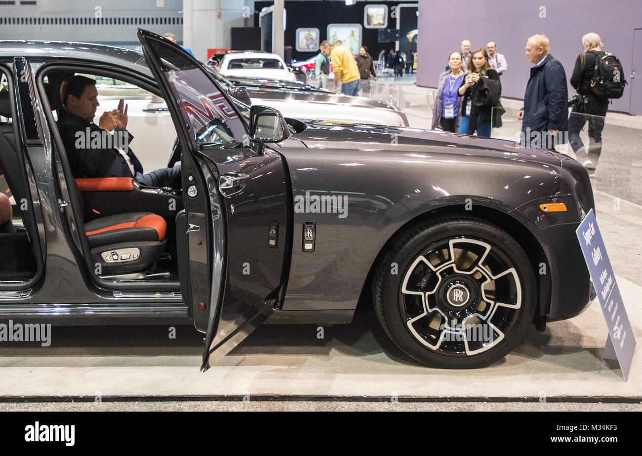 Rolls Royce Black Badge High Resolution Stock Photography And Images Alamy