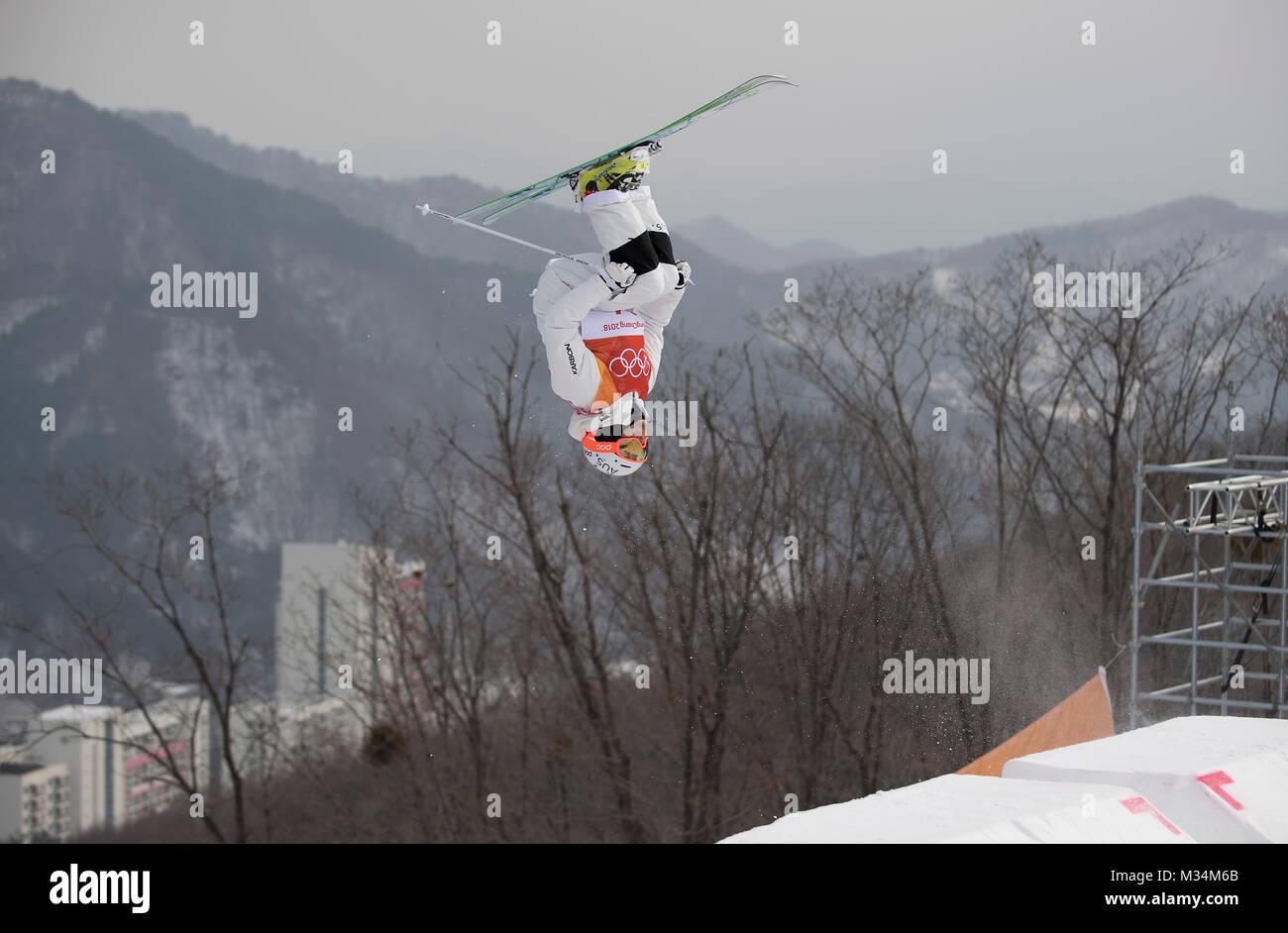 Pyeongchang, South Korea  9th Feb, 2018  Aktion, allgemein