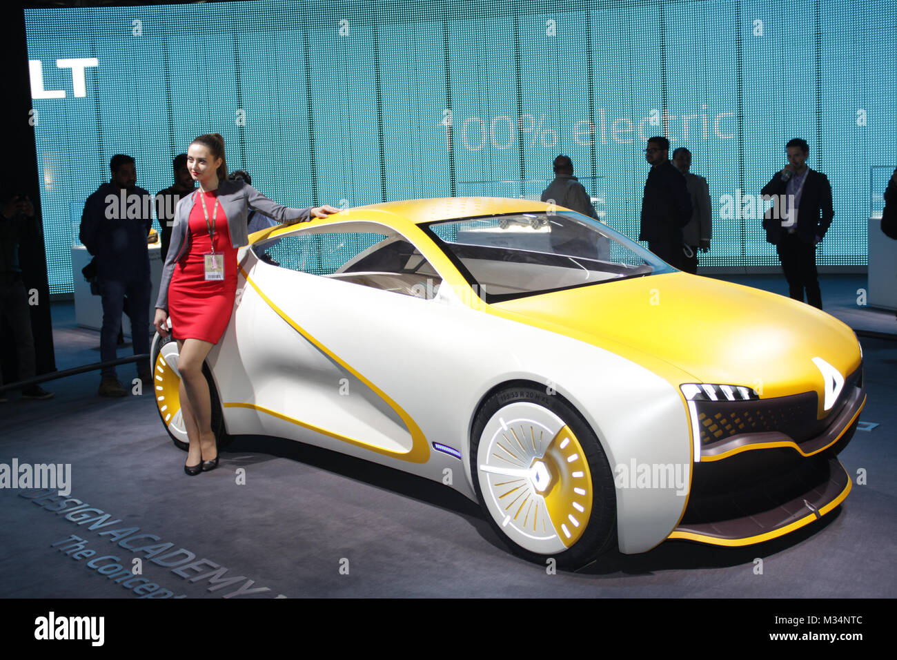 Noida Utter Pradesh India 08th February 2018 Renault Showcases