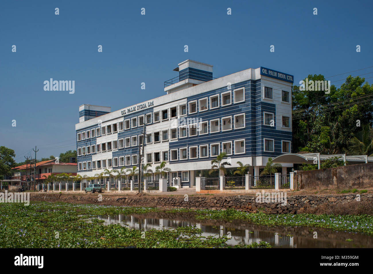 oil palm India ltd, kottayam, kerala, India, Asia - Stock Image