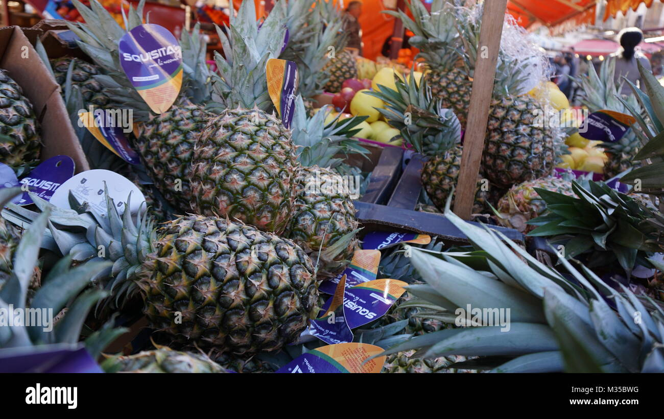 Palermo, Sicily, Italy - food market Stock Photo