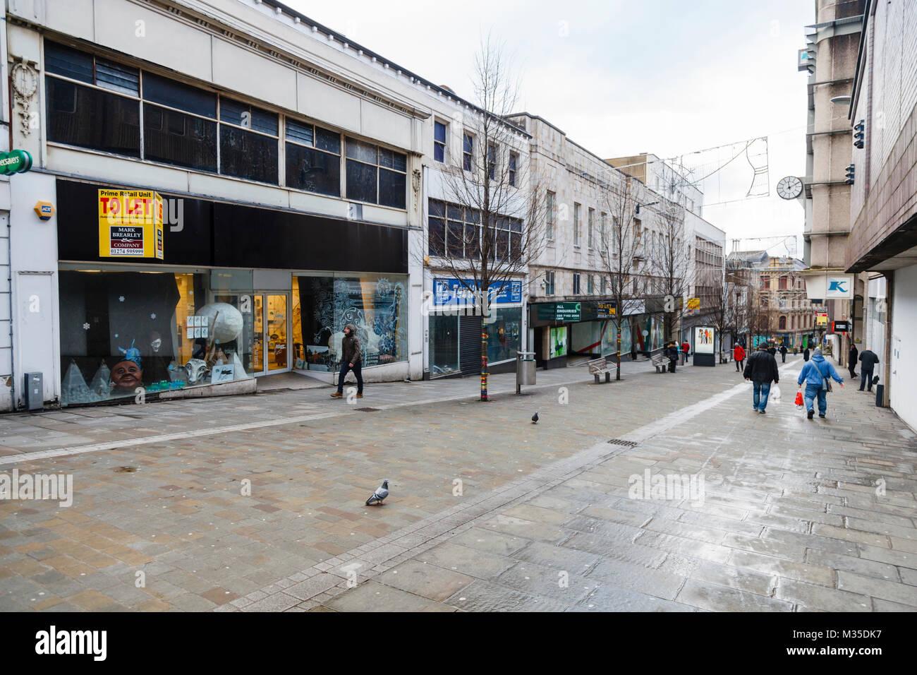 Darley Street, Bradford, West Yorkshire - Stock Image