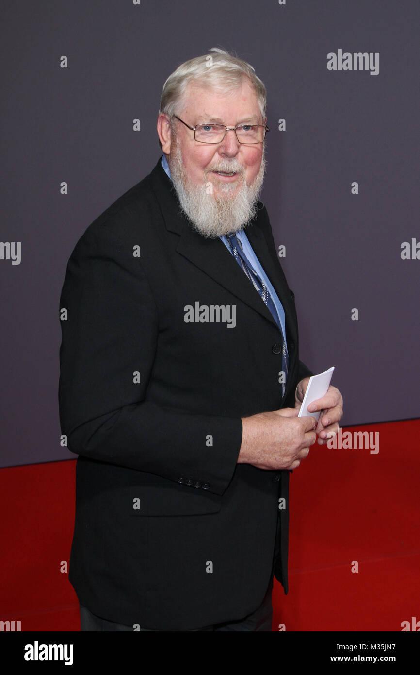 Michael Succow (Umweltschuetzer und Oekonom), Geburtstagsfeier zum 70. Geburtstag von Dr. Michael Otto im Schuppen Stock Photo