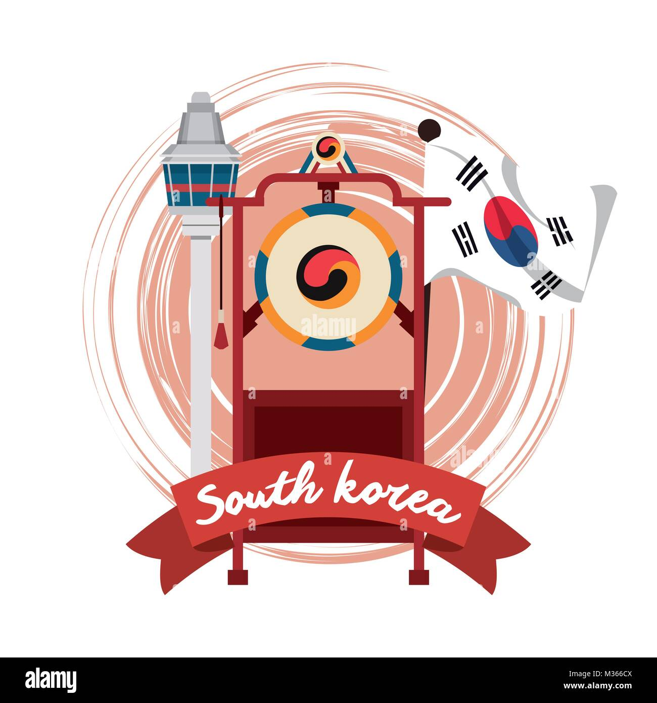 South korean culture stock vector images alamy south korea culture stock vector biocorpaavc Image collections
