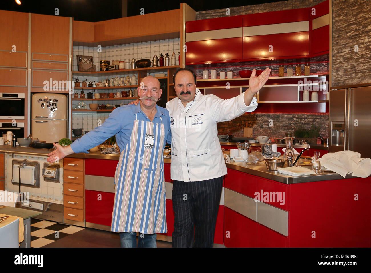 Johann Lafer und Horst Lichter in ihrer neuen Kueche, Aufzeichnung ...