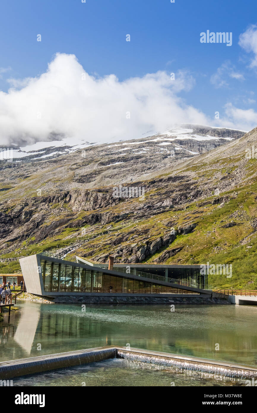 Trollveggen , Andalsne, Norway - Stock Image