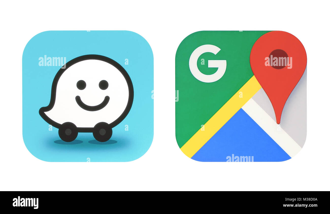 Waze Icon Stock Photos Waze Icon Stock Images Alamy