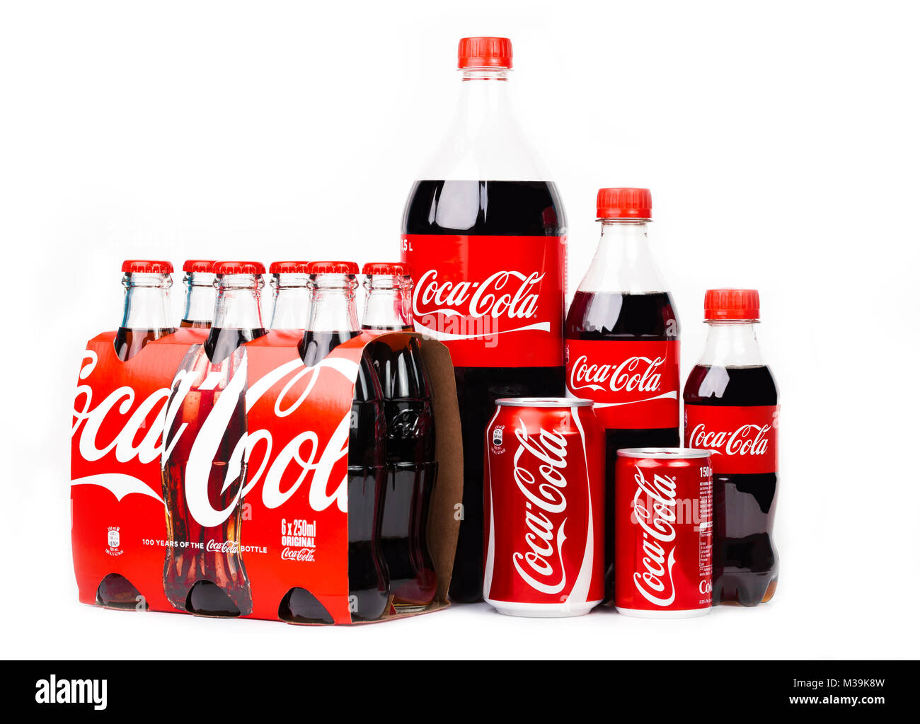 Coca Cola Logo Cut Out Stock Images Pictures Alamy Sprite Pet 15l Trieste Italy April 14 2016 A Group Of Products