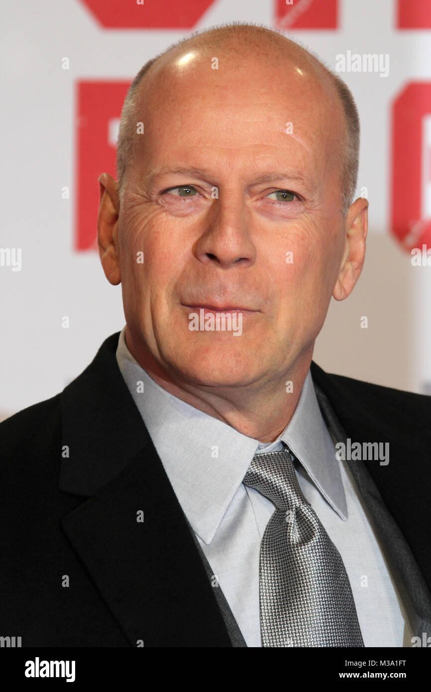 Bruce Willis Premiere Stirb Langsam Ein Guter Tag Zum