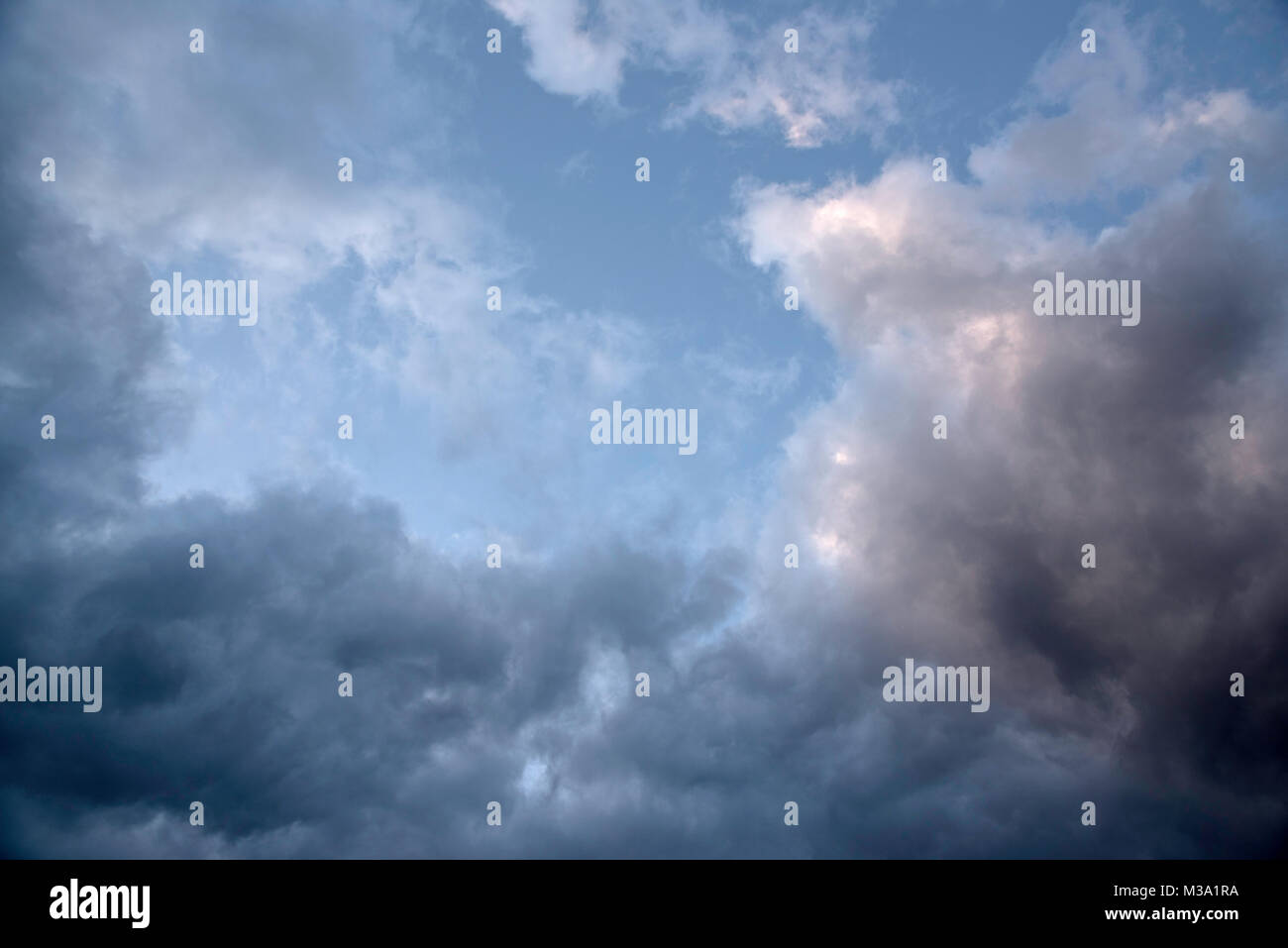 Clearing spring storm - Stock Image