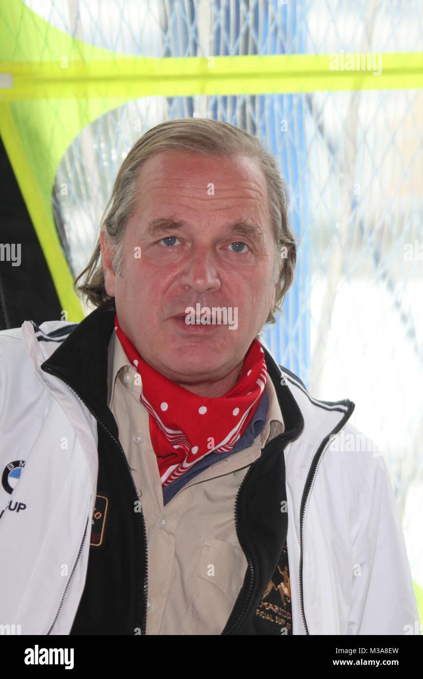 Enno von Rufin, BMW Sailing Cup Deutschlandfinale, Hamburg, 05.10.2012 - Stock Image