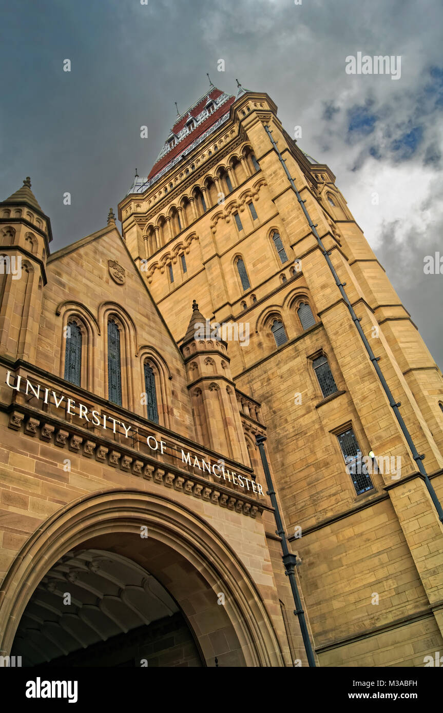 UK,Manchester,Oxford Road,University of Manchester,The Whitworth  Building - Stock Image