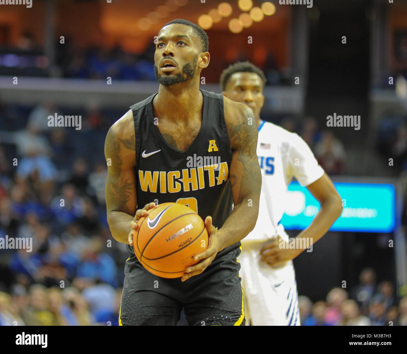 C.J. Keyser Wichita State Shockers Basketball Jersey-White