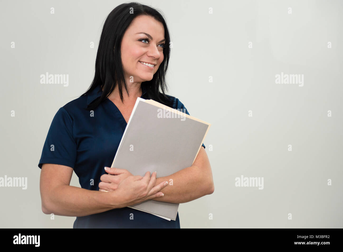 Business Owner/Fill in Your Own Logo - Stock Image
