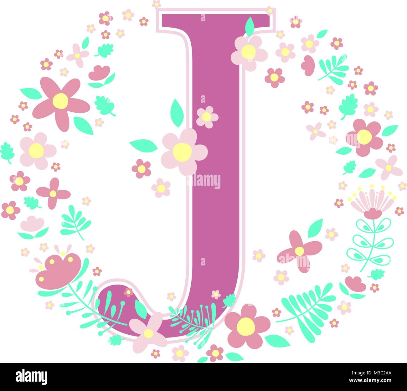 Letter J Stock Vector Images - Alamy
