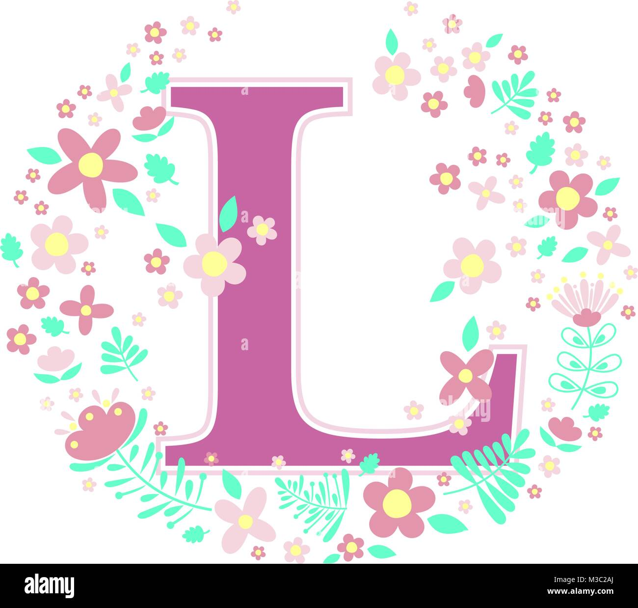 Letter L Stock Vector Images - Alamy