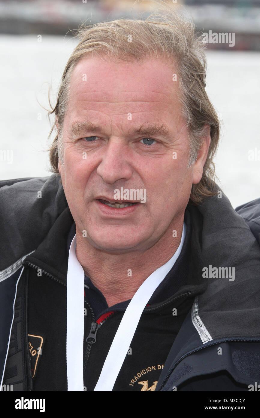 BMW Sailing Cup 2011, Hamburg, 07.10.2011, Enno von Ruffin - Stock Image