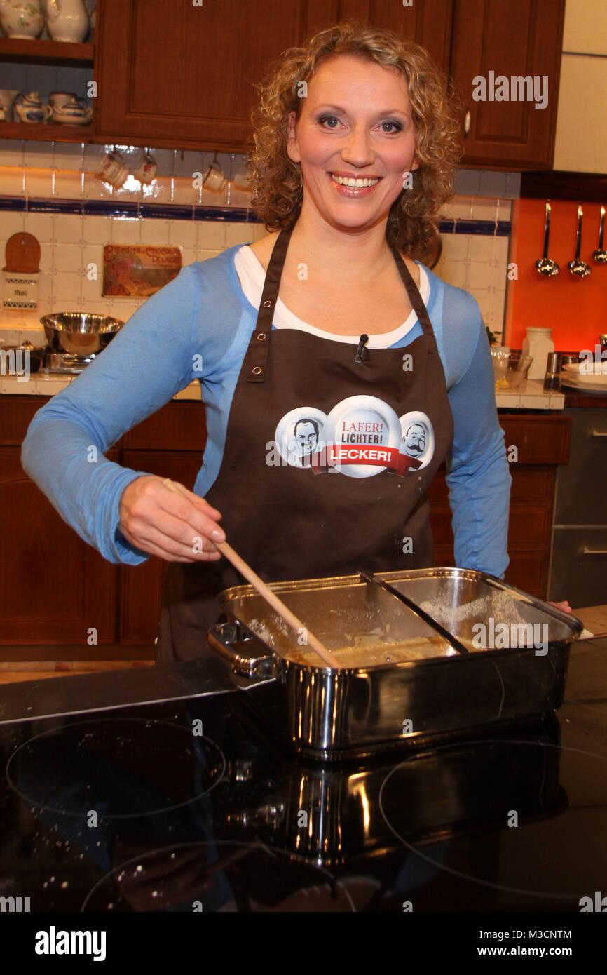 Lafter Lichter Lecker, Aufzeichnung vom 21.03.2010, Hamburg, Ausstrahlung: 24.04.2010, Julia Westlake  ACHTUNG SPERRFRIST: Stock Photo