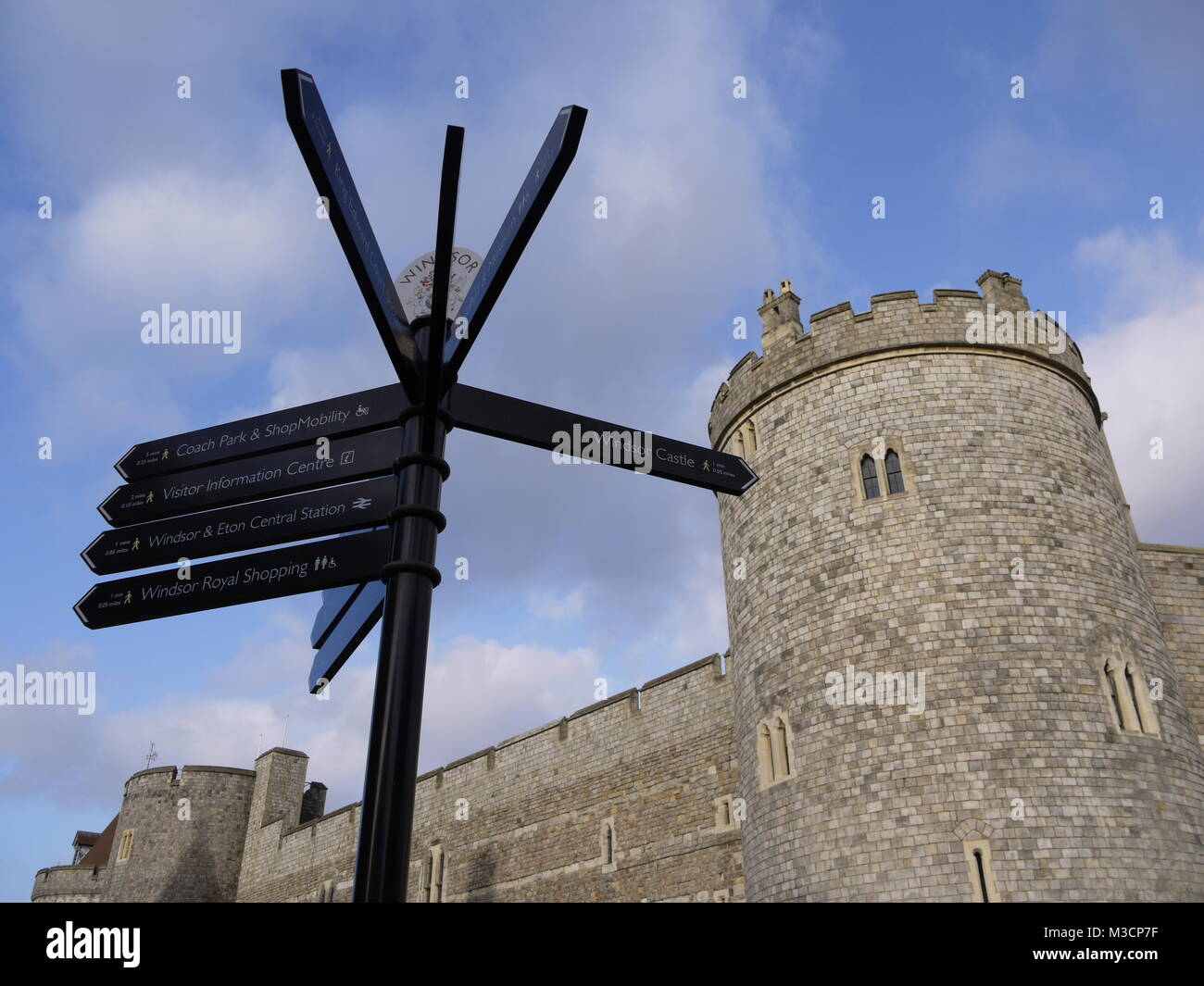 Windsor Castle, Windsor, Berkshire, UK. Stock Photo